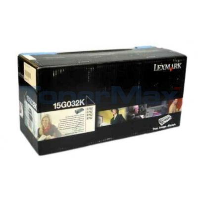 LEXMARK C752 LASER PRINT CART BLACK 15K